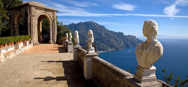 Villa Cimbrone à Ravello - Côte Amalfitaine - Campanie - Italie