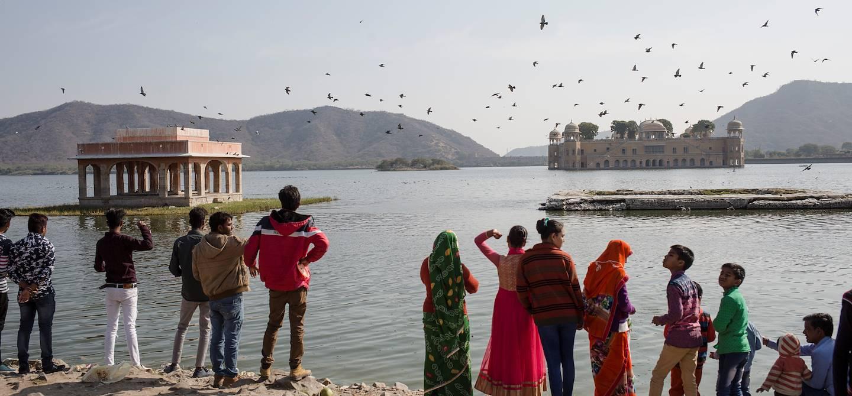 Kite Festival, le festival des cerfs-volants de Jaïpur - Rajasthan - Inde