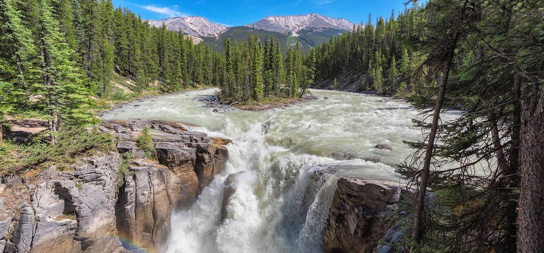 Sunwapta Falls - Jasper National Park - Canada