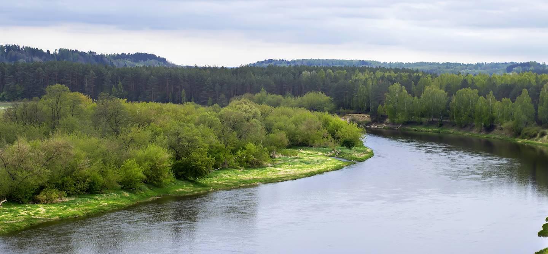Rivière Néris - Lituanie