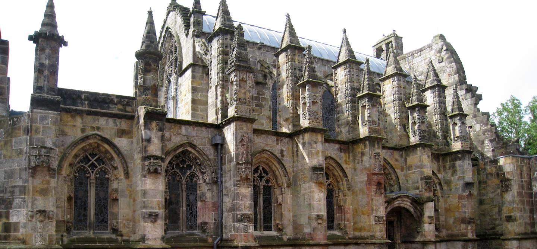 La chapelle de Rosslyn - Roslin - Ecosse