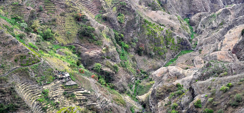 Vue de la route de la Corde - Santo Antao - Cap Vert