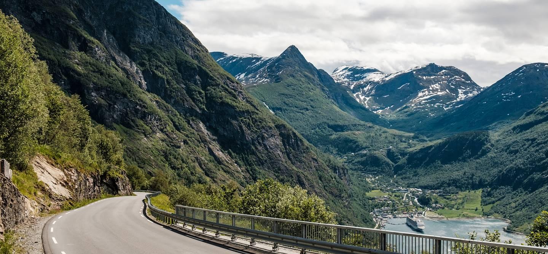 Sur la Route des Aigles, près du Geirangerfjord - Norvège