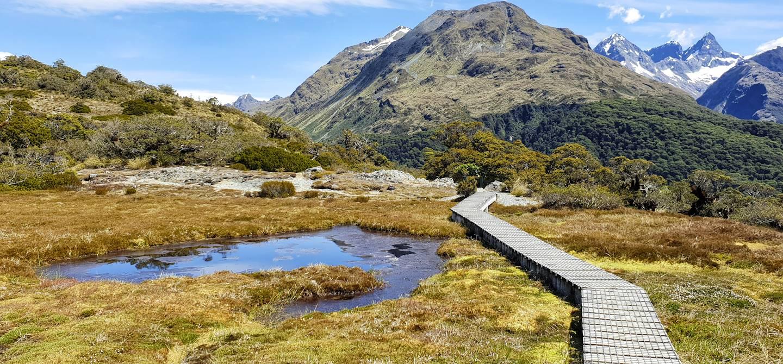 Routeburn Track - île du sud - Nouvelle-Zélande