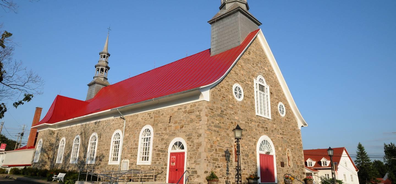 L'église catholique Saint-Jean-Baptiste - Saint-Jean-Port-Joli - Québec - Canada