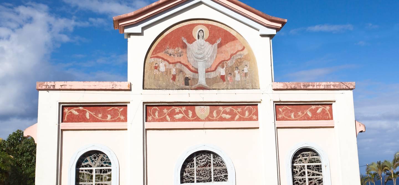 Eglise de Notre-Dame-des-Laves - Piton Sainte-Rose - La Réunion