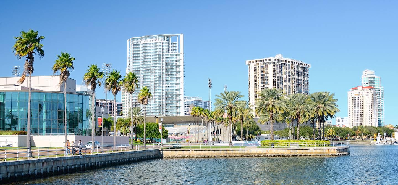 Centre-ville - Saint Petersburg - Floride - Etats-Unis