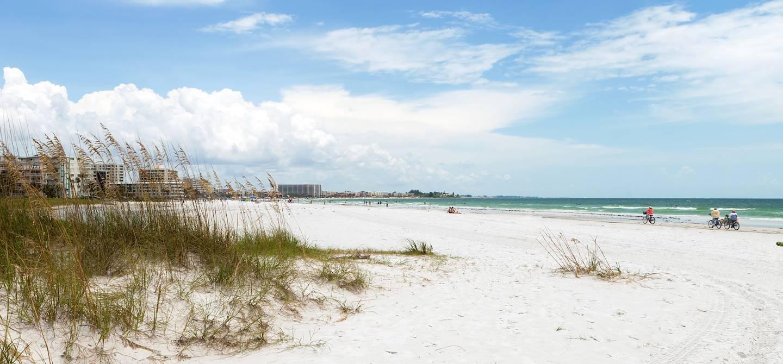 Vue de la Siesta Key Beach - Sarasota - Floride - Etats-Unis