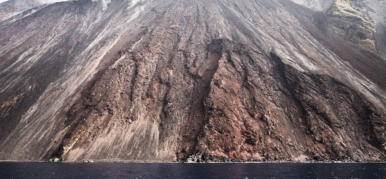 Sciara del fuoco - Le Stromboli - îles Éoliennes - Sicile - Italie