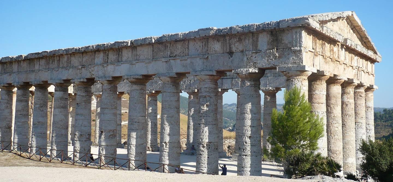 Temple dorique de Ségeste - Sicile (entre Palerme et Trapani)