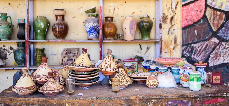 Artisanat à Tamegroute - Maroc