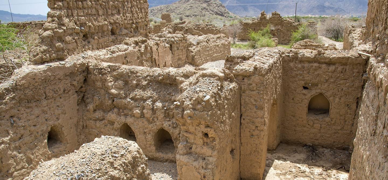 Ruines de Tanuf - Oman