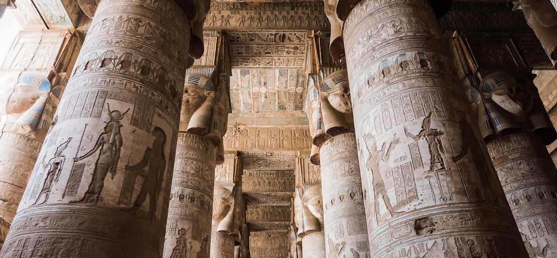 Le Temple d'Hathor - Dendérah - Égypte