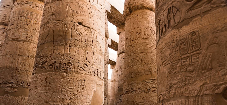 Le Temple de Karnak - Louxor - Égypte