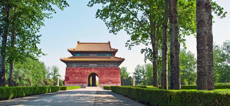 Porte d'entrée des tombeaux Ming - Région de Changping - Chine