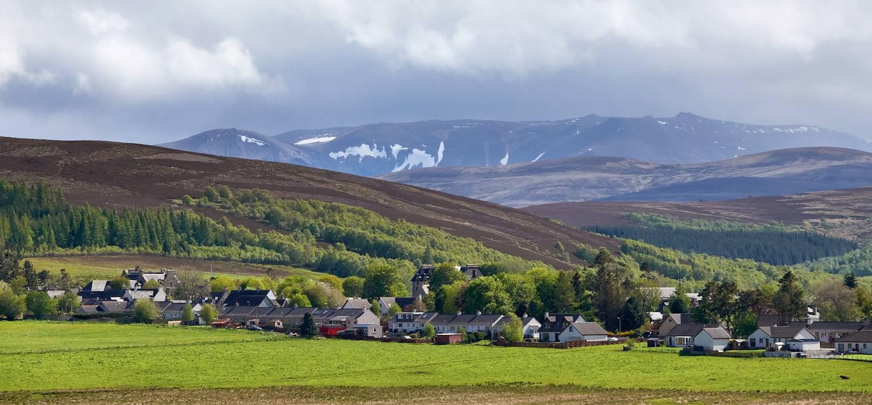 Village de Tomintoul - Comté de Banffshire - Ecosse