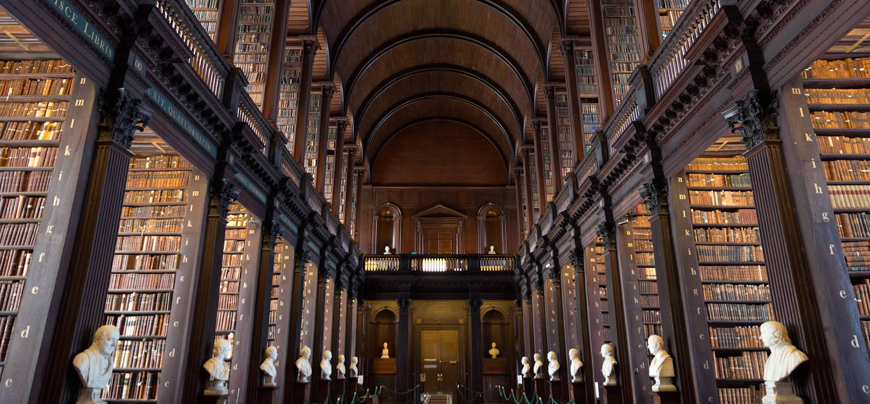 Bibliothèque du Trinity College - Dublin - Irlande
