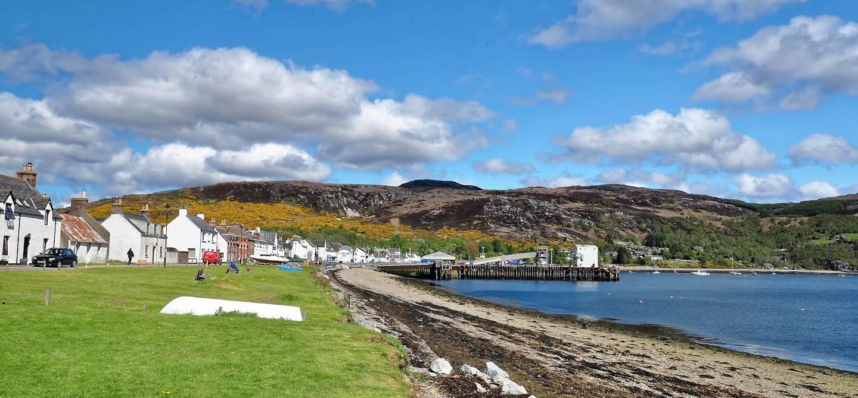 Port de Ullapool - Région des Highlands - Ecosse