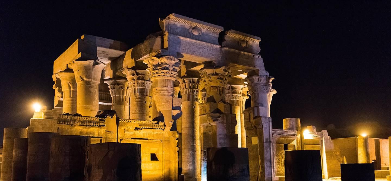 Le Temple de Sobek et Haroëris, de nuit - Kôm Ombo - Égypte