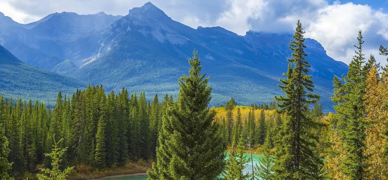 Morant's Curve - Parc national de Banff - Alberta - Canada