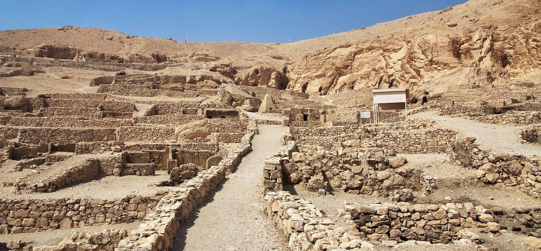 Vestiges de Deir el-Médineh - Egypte
