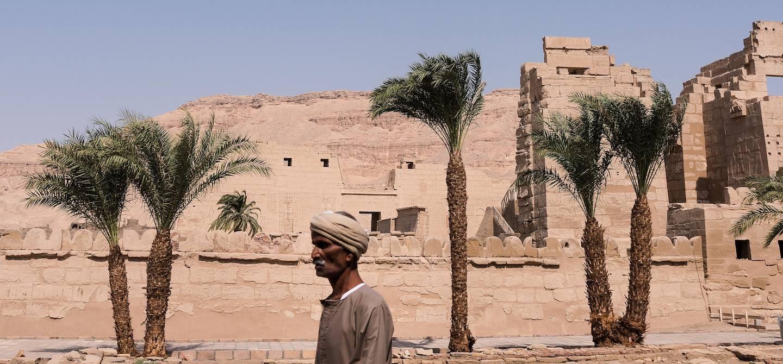 Vestiges de temples près de la Vallée des Rois - Égypte