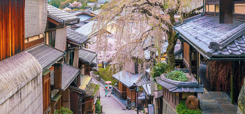 Quartier de Higashiyama - Kyoto - île d'Honshu - Japon