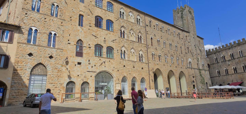 Palazzo dei Priori - Volterra - Toscane - Italie
