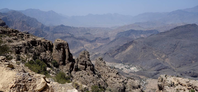 Wadi Bani Awf - Région Ad-Dakhiliyah - Oman