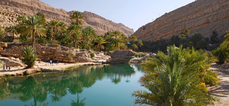 Piscines naturelles à Wadi Bani Khalid - Oman