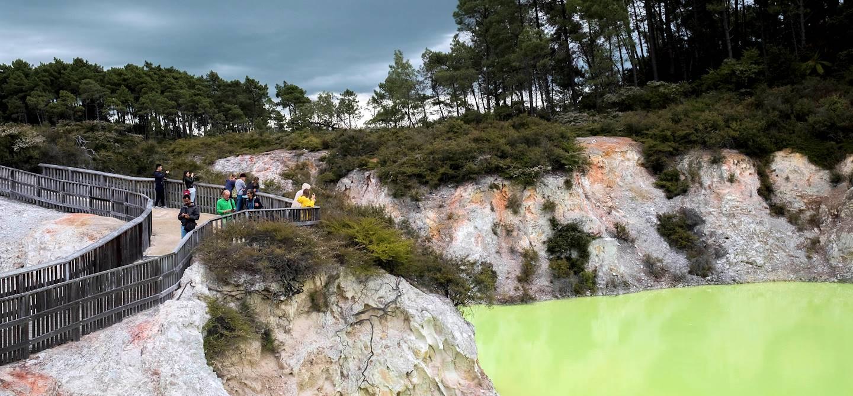 Parc géothermique de Waiotapu - Rotorua - Île du Nord - Nouvelle Zélande