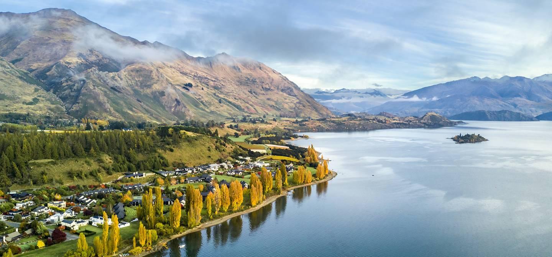 Lac Wanaka - île du sud - Nouvelle-Zélande