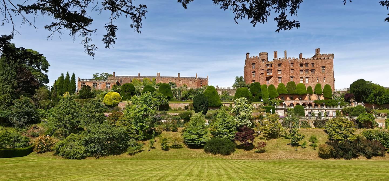 Château de Powis - Welshpool - Pays de Galles - Royaume-Uni