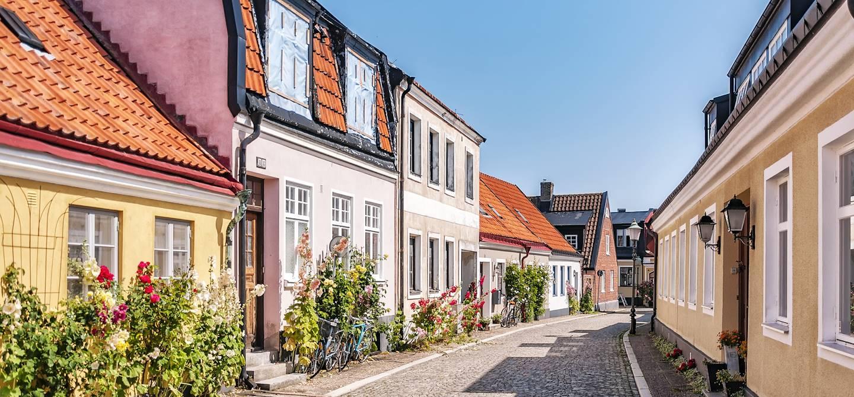Dans les rues de Ystad - Scanie - Suède