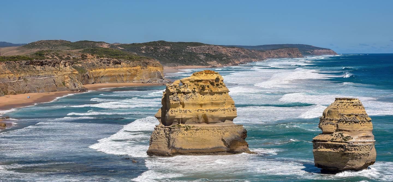 """""""Twelve Apostles"""", dans le parc national de Port Campbell - Melbourne - Australie"""