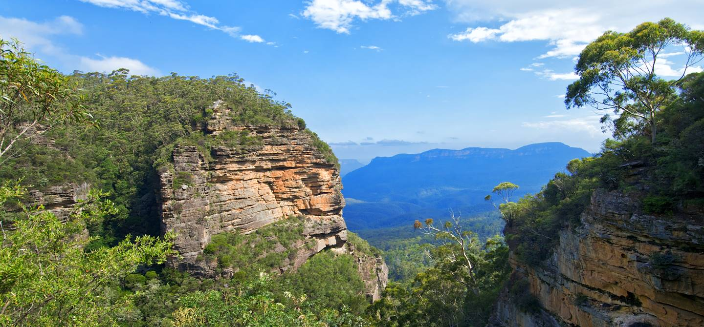 Les Blue Mountains - Sydney - Australie