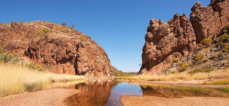 Glen Helen Gorge - Parc national MacDonnell Ouest - Territoire du Nord - Australie