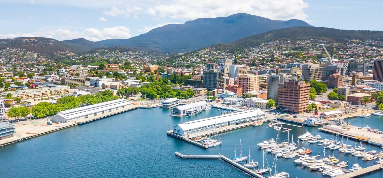 Constitution Dock à Hobart - Tasmanie - Australie