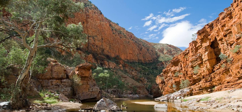 Ormiston Gorge - Mac Donnell Ranges - Territoire du Nord - Australie