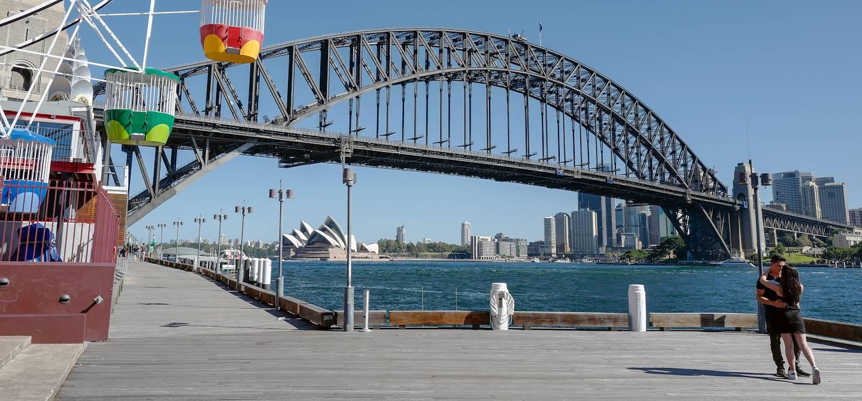 Luna Park, parc d'attractions à Sydney - Australie