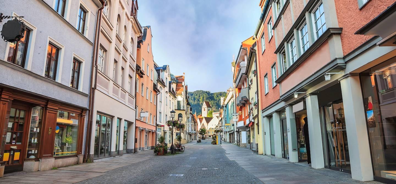 Dans les rues de Fussen - Bavière - Allemagne