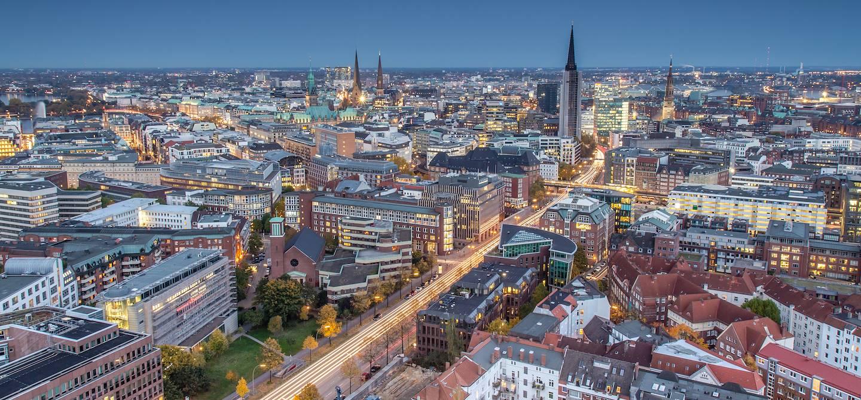 La Reeperbahn - Hambourg - Allemagne