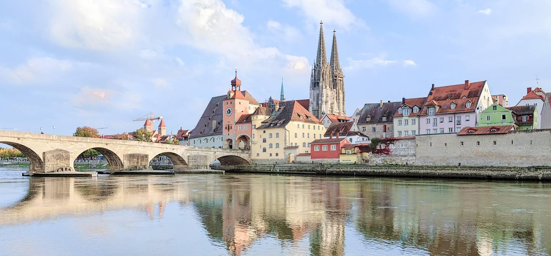 Regensburg - Région de la Bavière - Allemagne