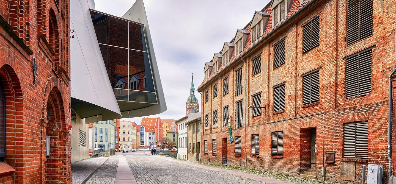 Promenade dans la vieille ville - Stralsund - Mecklembourg-Poméranie-Occidentale - Allemagne