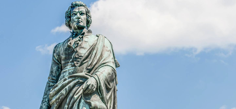Statue de Mozart - Salzbourg - Autriche