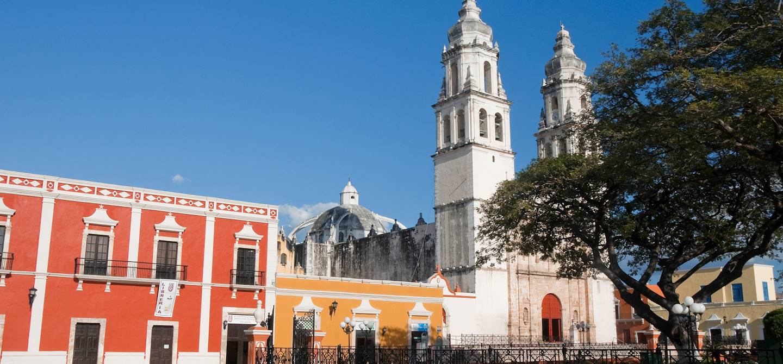 Place de l'Indépendance - Campeche - Mexique