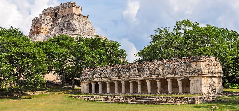 Site antique maya d'Uxmal - Yucatan - Mexique