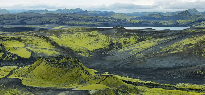 """Les """"cratères du Laki"""" ou Lakagígar - Islande"""