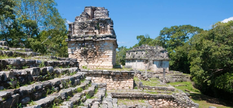 Site archéologique Maya de Yaxchilan - Chiapas - Mexique