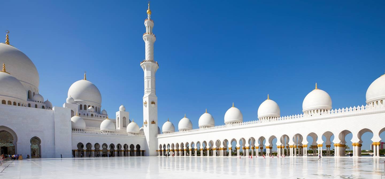 Mosquée Sheikh Zayed - Abu Dhabi - Emirats Arabes Unis